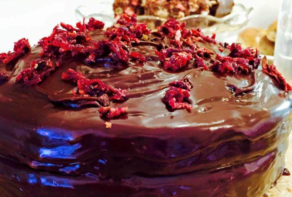 Beetroot & Chocolate Ganache